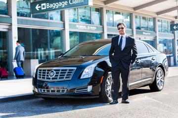 Traslado privado a la llegada: Aeropuerto Internacional LAX a hoteles...