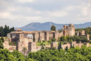 Alcazaba and Nasrid Palace in Malaga...