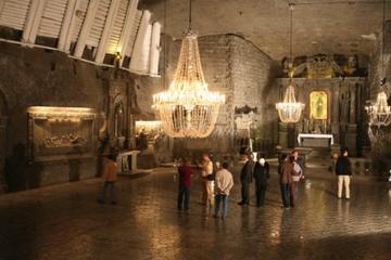 Excursion VIP et privée à la mine de sel de Wieliczka au départ de...