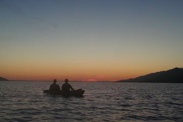 Kajaktour bei Sonnenuntergang in Zadar