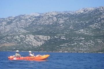 Kayak fishing tour