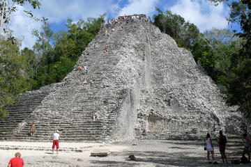 Mayan Inland Expedition: Coba Ruins and Punta Lagu