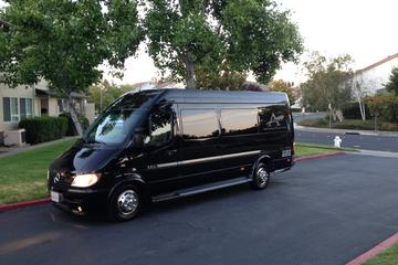 Napa Valley wine tour in 12 passenger