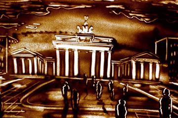Sandkunst-Show: Die Geschichte Berlins