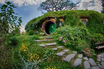 Hobbiton and Ruakuri Caves Tour from Auckland