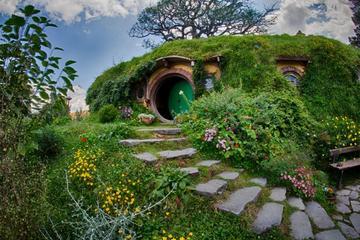 Tour door Hobbiton en de Ruakuri-grotten vanuit Auckland