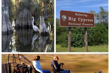 Aventura en hidrodeslizador en la reserva mikasuki y Reserva Nacional...
