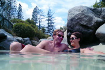 Hanmer Springs Thermal Pools, Jet Boat Tour from Christchurch