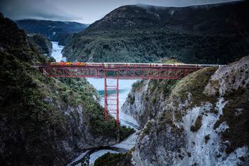 Tour de un día a Arthur's Pass con tren expreso TranzAlpine desde...
