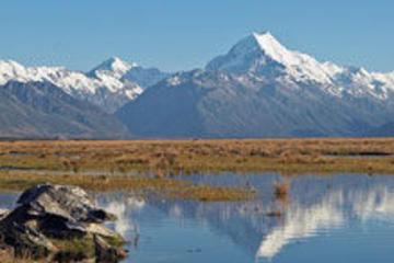 Utforska berget Mount Cook från Christchurch