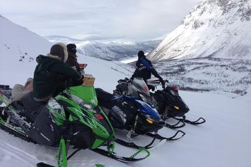 Snowmobile Safari and Reindeer Herding in the Mountains in Tromso