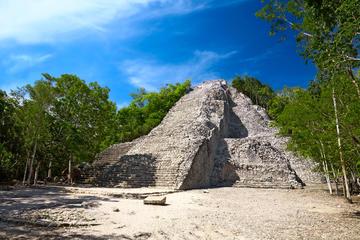 Coba, ruinas de Tulum, cenote y playa de Tulum desde Cancún