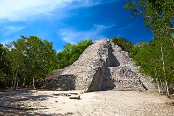 Coba, Tulum Ruins, Cenote and Tulum Beach from Playa del Carmen