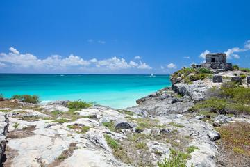 Tulum, Coba Ruins and Two-Reef Snorkeling Tour from Cancun