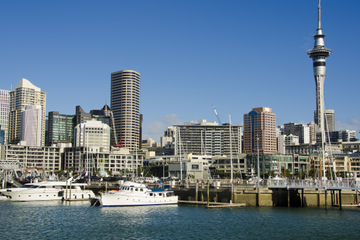 Déjeuner-croisière dans le port d'Auckland
