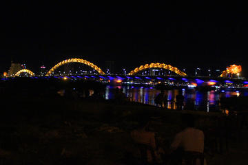 Danang Evening Food tour by US Military Jeep