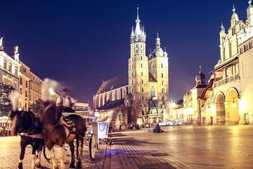 Krakow and Wieliczka Salt Mine Tour from Wroclaw