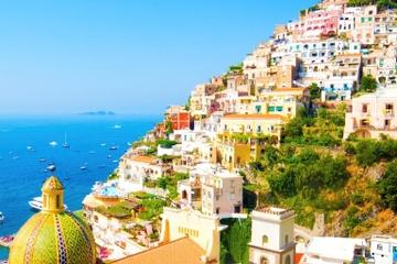 Excursion indépendante d'une journée à Sorrente et sur la côte...