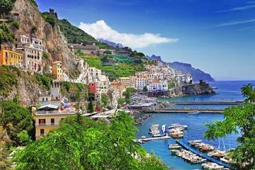 Excursion privée d'une journée sur la côte amalfitaine au départ de...