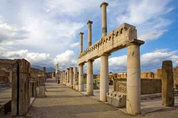 Halfdaagse trip naar Pompeii vanuit Napels