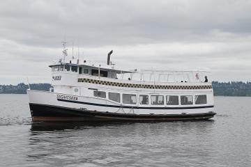 Bootstour auf Lake Washington ab...