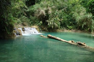 Private Tour: Kuang Si Waterfall from...