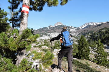 Hiking tour to mountain Visocica