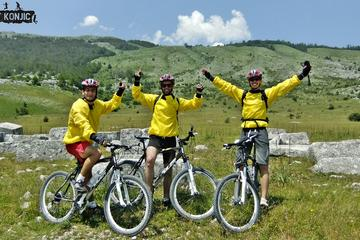 Mountain biking tour from Blidinje nature park to Ramsko lake