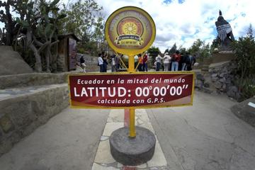 Equator Line and Pululahua Crater Private Tour