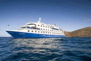 Santa Cruz Cruise At Galapagos Islands