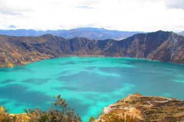 Shared Day Trip to Quilotoa Crater Lagoon