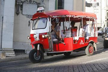 City tour de Tuk-Tuk com duração de 2 horas pela cidade de Lisboa