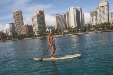Oahu Stand Up Paddleboarding Lessons...