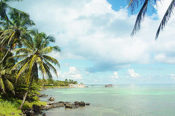 Corn Island the big island in the...