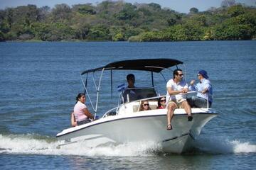 Paseo en barco por el lago Nicaragua