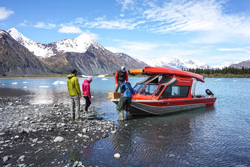 Bear Glacier Kayaking Adventure with Jetboat Transport