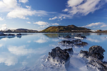 Reykjavik Combo: Tur/retur-transport til Den Blå Lagune samt Golden...