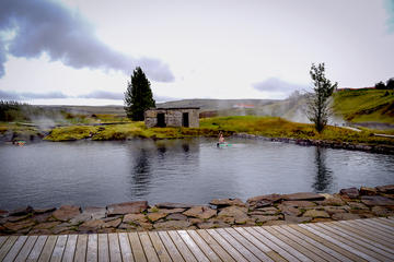 Secret Lagoon and Golden Circle Bright Nights from Reykjavik