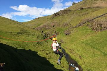 South Iceland Tour from Reykjavik with Zipline Adventure