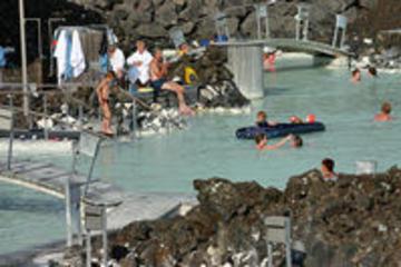 Transport tur och retur till Blå lagunen från Reykjavik