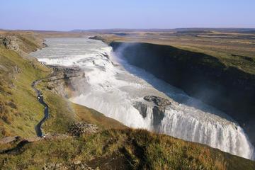 Tur fra Reykjavík til Den gyldne sirkel og de geotermiske badene ved...