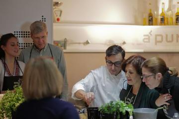 Taller de cocina de paella y tapas en Madrid