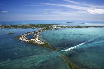 Helikoptervlucht over Florida Keys