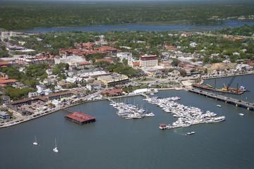 Hubschrauberrundflug über dem Strand von St. Augustine und der...