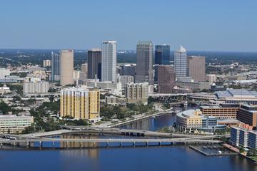Recorrido en helicóptero por el centro de Tampa