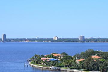 Recorrido en helicóptero por la bahía de Tampa y la isla Davis