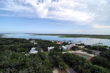 Vol en hélicoptère St. Augustine, Porpoise Point et vieux centre-ville
