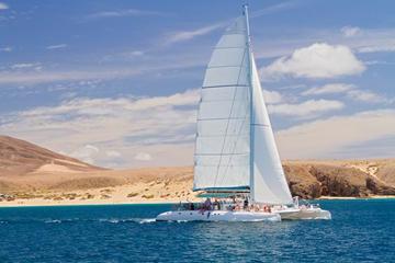 Navegación en catamarán Catlanza en Lanzarote