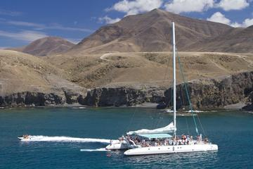 Segelausflug mit Catlanza-Katamaran in Fuerteventura