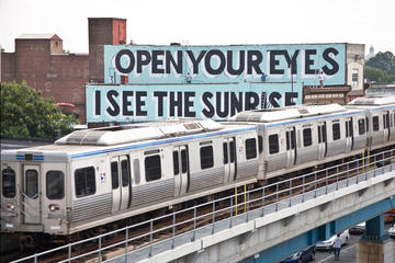 Philadelphia Love Letter Art Tour via Elevated Train